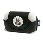 National Basketball Association Large Horizontal Cell Phone Pouch (Milwaukee Bucks)