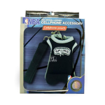 National Basketball Association Cell Phone Jersey Pouch (San Antonio Spurs)