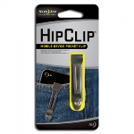 Nite Ize Low Profile HipClip Pocket Clip for Samsung Galaxy Note 9 - Silver