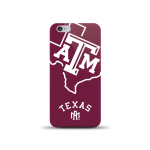 NCAA Sports XL Case for iPhone6. Texas A&M Aggie