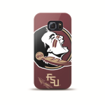 Mizco Sports NCAA Oversized Snapback TPU Case for Samsung Galaxy S6 Edge (Florida State Seminoles )