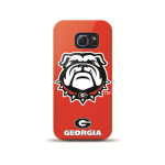 Mizco Sports NCAA Oversized Snapback TPU Case for Samsung Galaxy S6 Edge (Georgia Bulldogs)