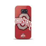 Mizco Sports NCAA Oversized Snapback TPU Case for Samsung Galaxy S6 Edge (Ohio State Buckeyes)