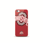 Mizco Sports NCAA Oversized Snapback TPU Case for Apple iPhone 5 / 5S / SE (Ohio State Buckeyes)