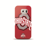 Mizco Sports NCAA Oversized Snapback TPU Case for Samsung Galaxy S6 (Ohio State Buckeyes)