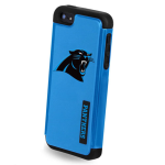 NFL 2 Piece Dual Hybrid Case for Apple iPhone 5/5S (Carolina Panthers)