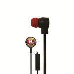 Licensed NFL Stereo Earbuds. San Francisco 49ers
