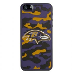 NFL Hard Camo Case iPhone5/5s. Baltimore Ravens
