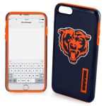 National Football League Dual Hybrid Case for Apple iPhone 6 / 6S (Chicago Bears)