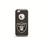 National Football League Flex Case for Apple iPhone 5 / 5S (Oakland Raiders)