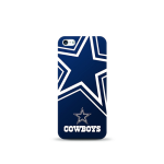 Mizco Sports NFL Oversized Snapback TPU Case for Apple iPhone 5 / 5S / SE (Dallas Cowboys)