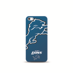 Mizco Sports NFL Oversized Snapback TPU Case for Apple iPhone 5 / 5S / SE (Detroit Lions)