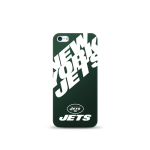 Mizco Sports NFL Oversized Snapback TPU Case for Apple iPhone 5 / 5S / SE (New York Jets)