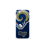 Mizco Sports NFL Oversized Snapback TPU Case for Apple iPhone 5 / 5S / SE (St. Louis Rams)