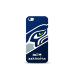 Mizco Sports NFL Oversized Snapback TPU Case for Apple iPhone 5 / 5S / SE (Seattle Seahawks)