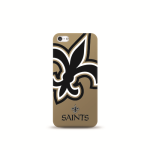 Mizco Sports NFL Oversized Snapback TPU Case for Apple iPhone 5 / 5S / SE (New Orleans Saints)