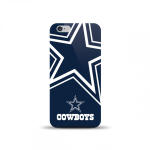 Mizco Sports NFL Oversized TPU Case for iPhone 6 / 6S (Dallas Cowboys)