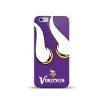 Mizco Sports NFL Oversized Snapback TPU Case for Apple iPhone 6 / 6S (Minnesota Vikings)