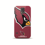 Mizco Sports NFL Oversized Snapback TPU Case for Samsung Galaxy S5 (Arizona Cardinals)