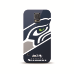 Mizco Sports NFL Oversized Snapback TPU Case for Samsung Galaxy S5 (Seattle Seahawks)