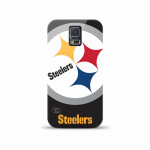 Mizco Sports NFL Oversized Snapback TPU Case for Samsung Galaxy S5 (Pittsburgh Steelers)