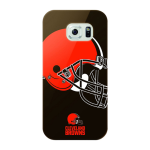 Mizco Sports NFL Oversized Snapback TPU Case for Samsung Galaxy S6 (Cleveland Browns)