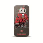Mizco Sports NFL Oversized Snapback TPU Case for Samsung Galaxy S6 (Tampa Bay Buccaneers)