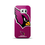 Mizco Sports NFL Oversized Snapback TPU Case for Samsung Galaxy S6 (Arizona Cardinals)