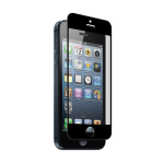 ZNITRO  iPhone 5/5S/5CAQ Nitro Glass Tempered Glass Screen Protector - Retail Packaging - Black