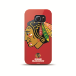 Mizco Sports NHL Oversized Snapback TPU Case for Samsung Galaxy S6 Edge (Chicago Blackhawks)