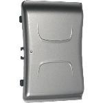 OEM Nextel i275 Extended Battery Door Cover, Silver - NNTN5955R