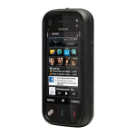 OtterBox Commuter Hybrid Case for Nokia N97 Mini - Black