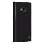 Verizon High Gloss Silicone Case for Microsoft Lumia 735 - Black