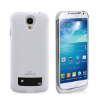 Naztech 3000mAh Power Case for Samsung Galaxy S4 - Black/White