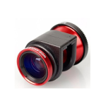 Olloclip 3-in-1 Lens for Apple iPhone 4/4s - Red