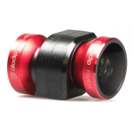 olloclip 4-in-1 Photo Lens for Apple iPhone 5/5s - Red