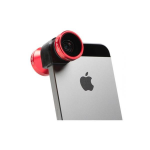Olloclip 4-in-1 Quick-Connect Lens Converter Lens Kit for iPhone 5/5S/SE - Red