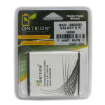 Ontrion OEM battery for Samsung Galaxy S4