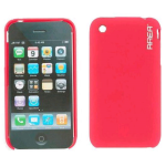 Wireless Genius Skin Cover Shell Case for Apple iPhone 3G/3GS - Red