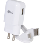 LG Mobile Travel Charger for LG G5 - Quick Charge w/ Type C