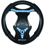 Polaroid Glow Wireless Racing Wheel for Playstation 3 (PS3) - Black