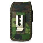 Reiko  - Army Geren Camouflage Rugged Pouch for HTC HD2 T8585 PLUS
