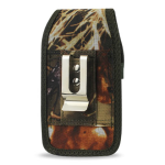 Reiko - Leaves Pattern Rugged Pouch for HTC HD2 T8585 PLUS