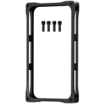 GADGET GUARD Rail Case. Bumper case.Black.