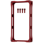 GADGET GUARD Rail Case. Bumper case.Red.