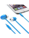 iLuv Peppermint Talk In-Ear Earbuds with Microphone - Blue