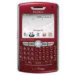 BlackBerry 8830 Replica Dummy Phone / Toy Phone (Red) (Bulk Packaging)