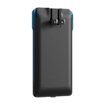 PhoneSuit Journey All-In-One micro USB Charger 3500 mAH (Black/Blue)