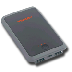Ventev Powercell 5000mAh Dual USB portable Battery Charger