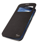 Qmadix FlipSmart Cover for Samsung Galaxy S4 - Black